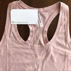 Light pink work out tank